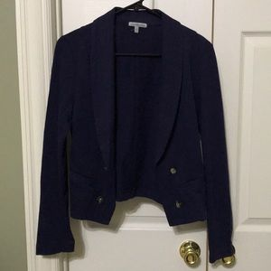 Cute navy blue jacket from Charlotte Russe. NWOT